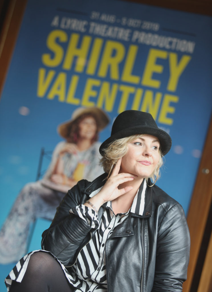 STARRING ROLE: West Belfast actress Tara Lynne O'Neill is Shirley Valentine