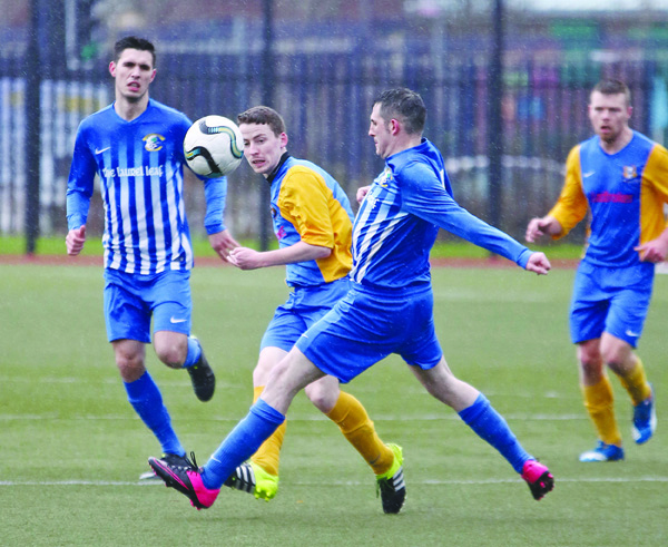 Immaculata host St Luke's in the last 16 of the Steel and Sons Cup on Saturday in what is a repeat of their 2017 Clarence Cup meeting, pictured above, when 'The Mac' claimed a 4-2 victory at The Cage