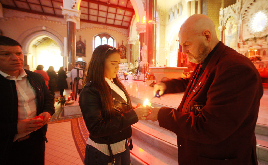 The annual Suicide Awareness Mass of Hope in Clonard Monastery