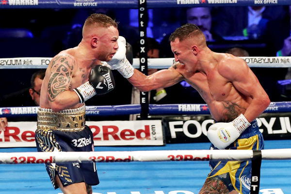 Carl Frampton insists he is ready to return to the ring following a freak injury that forced the cancelation of his bout against Emmanuel Dominguez back in August.