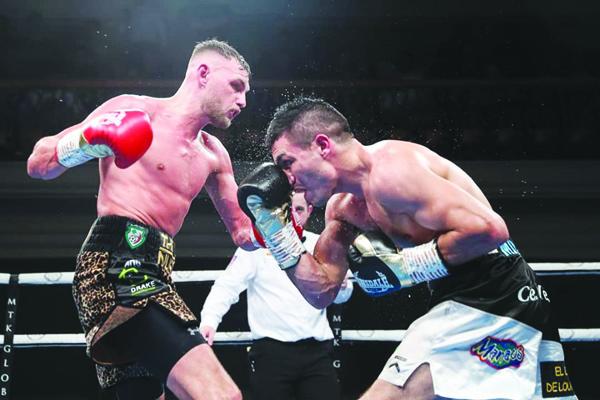 Sean McComb faces Argentina's Mauro Maximiliano Godoy on Saturday night