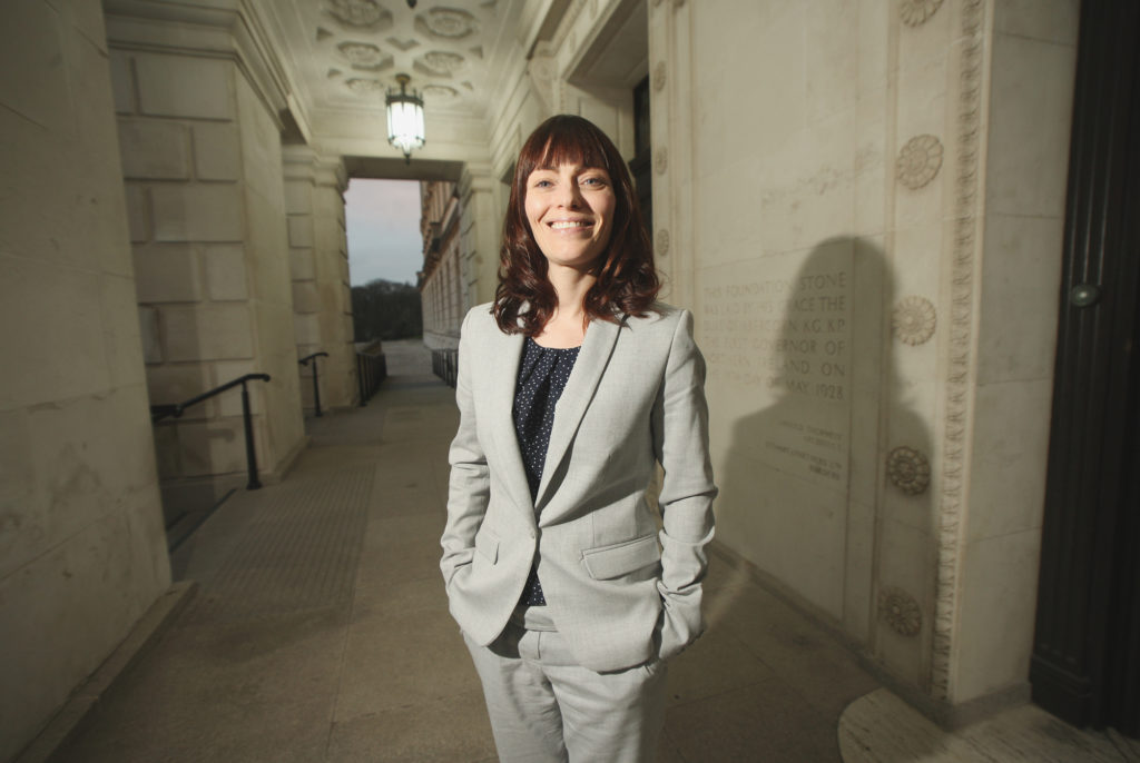 BUSY IN-TRAY: New Minister for Infrastructure at Stormont, SDLP North Belfast MLA Nichola Mallon, as she looks forward to the next two years in office