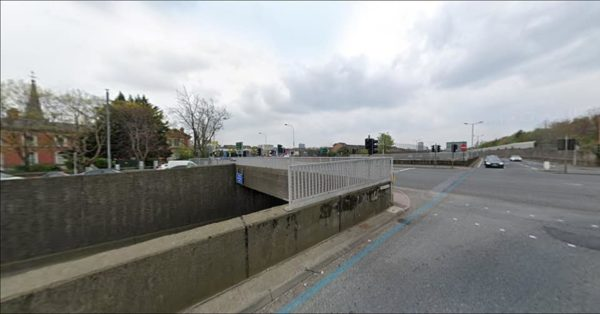 NO CHANGE: The bridge over the Westlink at Clifton Street