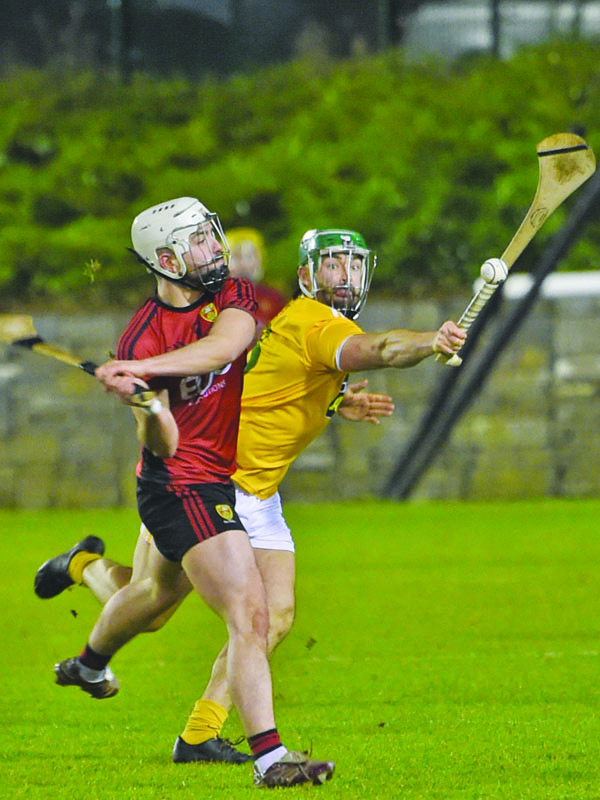 Ciaran Johnston is one of several Antrim players who has been returning from injury