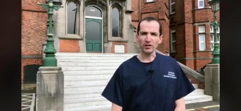 Dr Eoghan Ferrie, Emergency Department Consultant at the Mater, says staff are ready for the surge