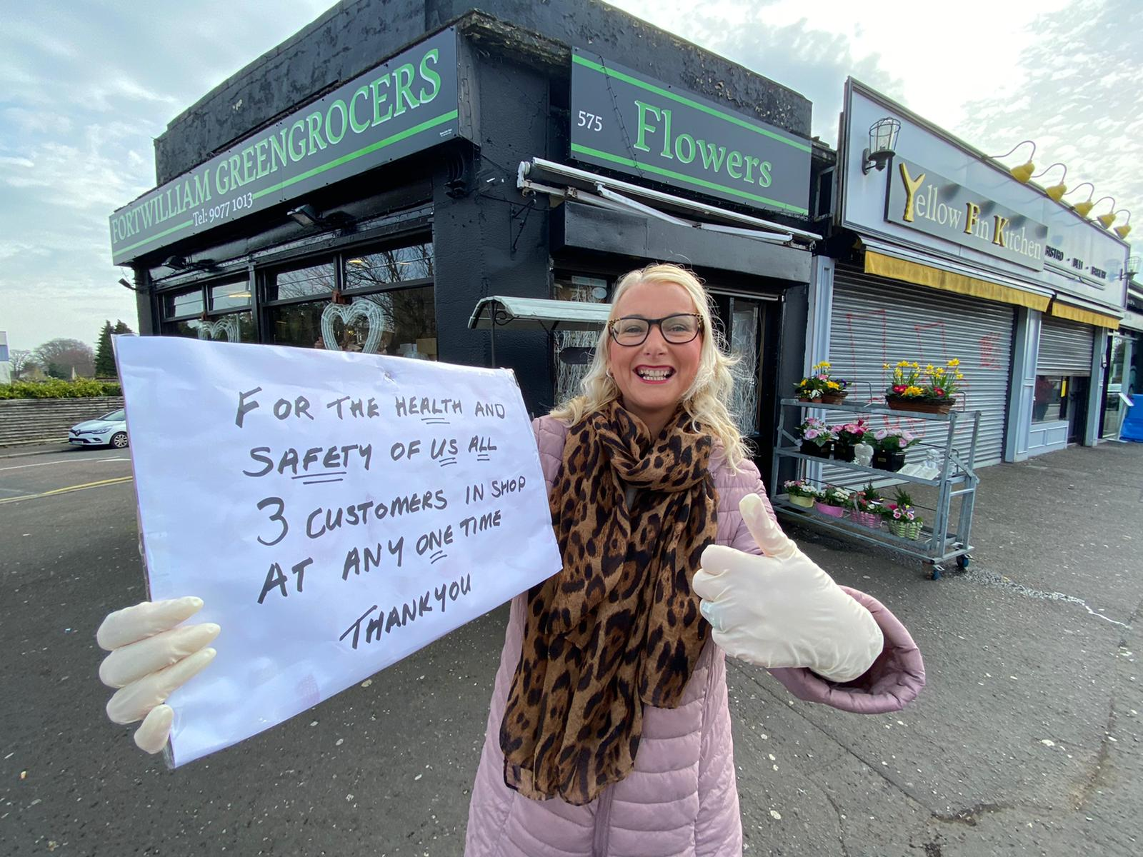 A woman who certainly knows her onions: Francine O\'Hare of Fortwilliam Greengrocers