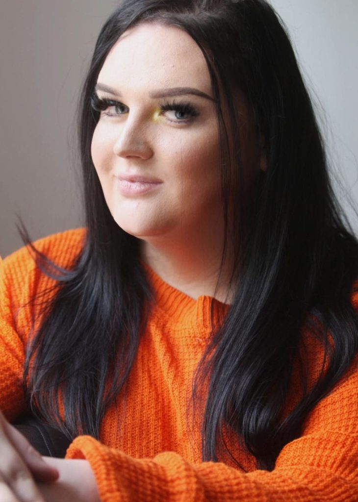STRUGGLE: 21-year-old Sophia Coligan from West Belfast