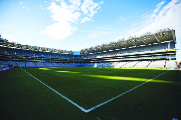 Croke Park - where Antrim\'s hurlers were due to face Kerry on Sunday in the Division 2A final – will lie empty, as will all GAA grounds until at least March 29 \nMandatory Credit ©INPHO/Bryan Keane