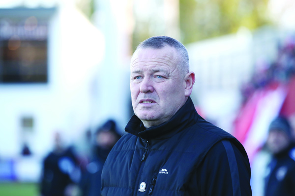 Crumlin Star manager Paul Trainor believes it is right that football takes a back seat at present