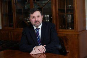 TESTING TIMES: Health Minister Robin Swann