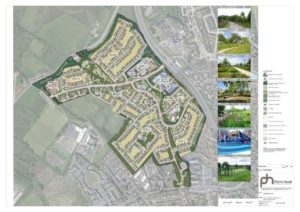 PLANS: The image of the £95m plan released today