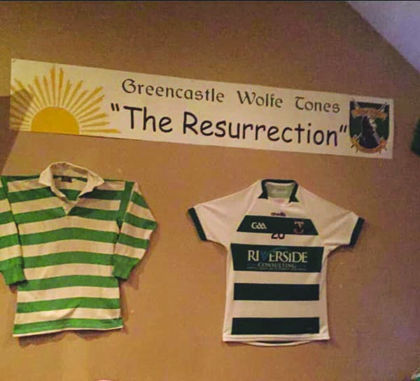 Greencastle GACare keen to embrace its roots with the revived club sporting the same colours as the original