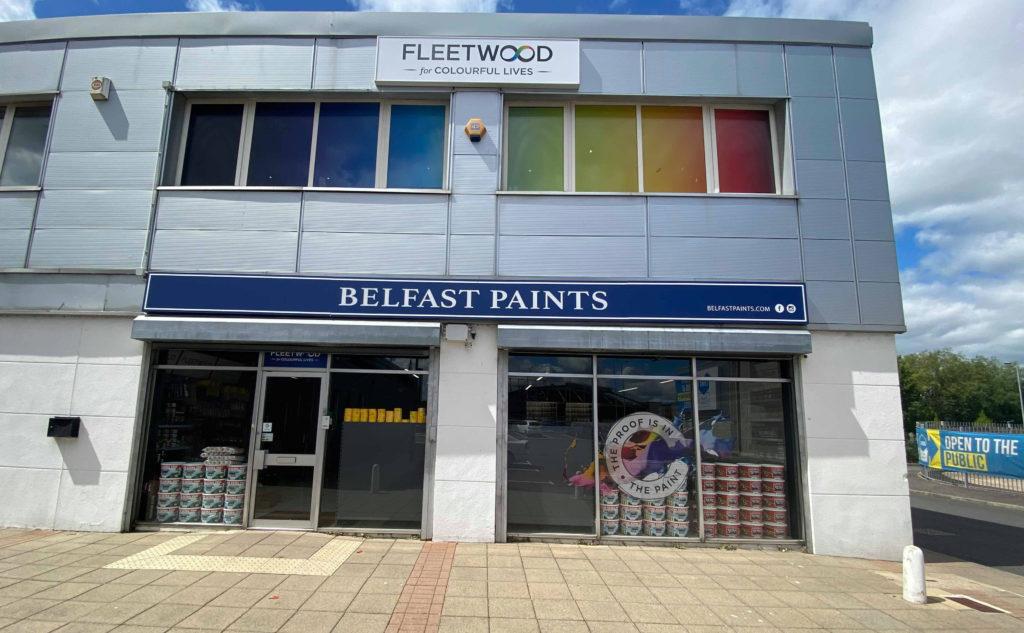 DIY DELIGHT: Belfast Paints store on Boucher Road