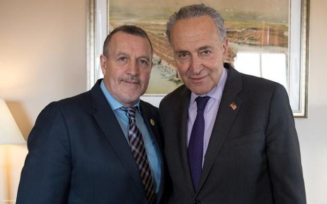TRUMP BLAMED: Senator Chuck Schumer of New York pins deportation blame on President Trump.