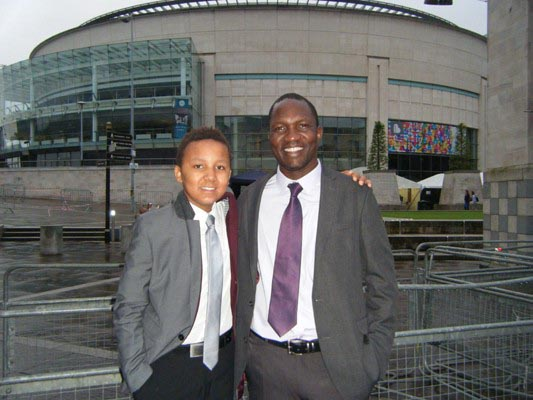 OBAMA OVATION: Elly and son Dylan queue at Waterfront Hall for Presidential visit in June 2013