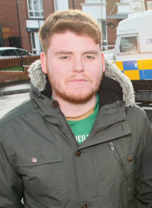 SADDENED: Cllr Ronan McLaiughlin