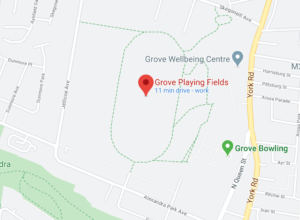 INTERFACE: Grove Playing Fields is situated on the interface between the nationalist and unionist communities of North Belfast