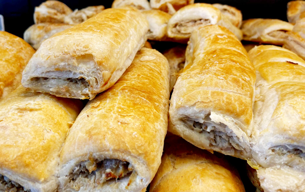 ROLL UP! ROLL US: Sensational sausage rolls at Use Your Loaf