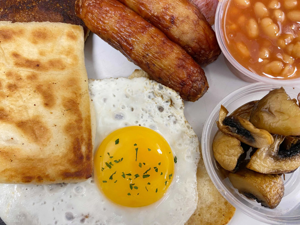 FRY UP! Use Your Loaf's Ulster fry is a favourite