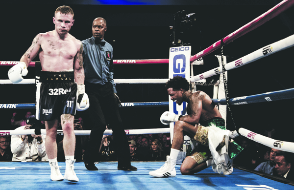 Frampton's last outing was back in November when defeating Tyler McCreary in Las Vegas. ©INPHO/Stevie English