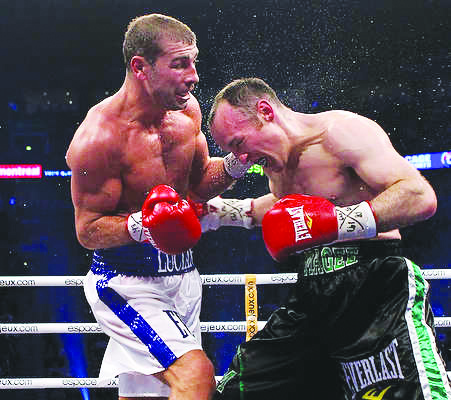 Magee clashes with Lucian Bute in the 2011 title fight
