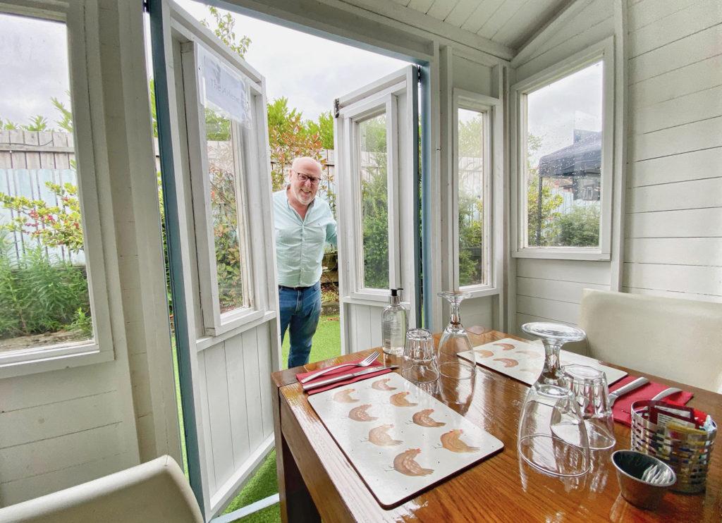OPEN DOOR: Martin Caldwell, owner of The Speckled Hen